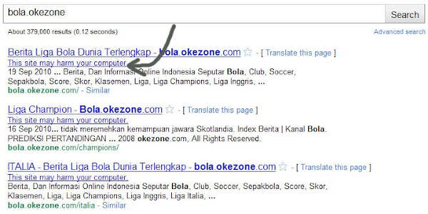 Bola Okezone Com Reported Attack Site