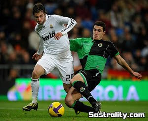 Real Madrid vs Racing Santander