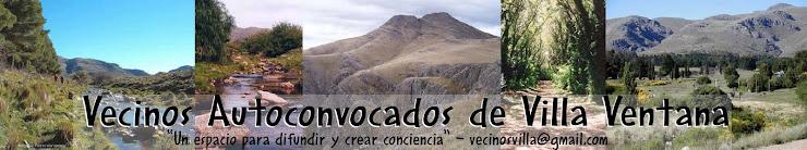 Vecinos Autoconvocados de Villa Ventana