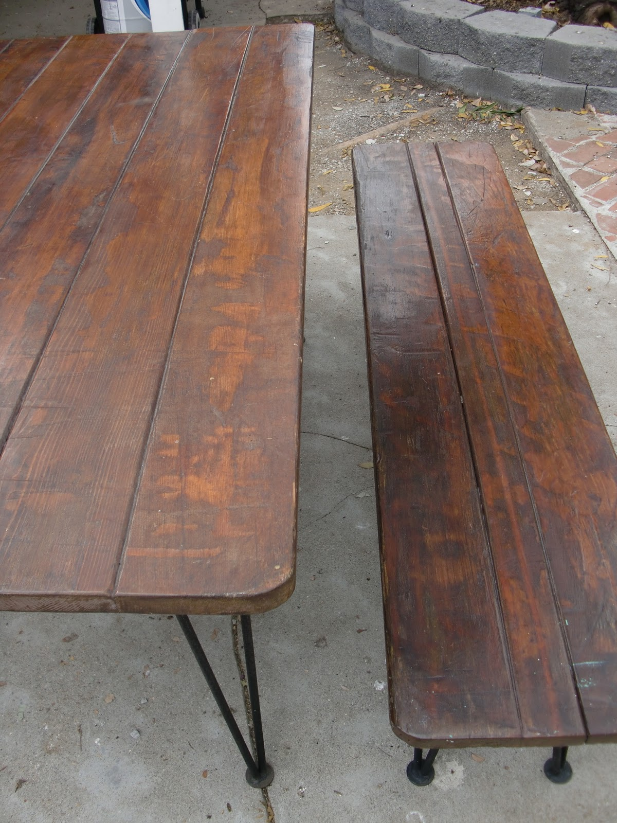 Dream2devise antique picnic table new dining room table antique picnic table new dining room table watchthetrailerfo