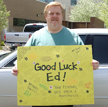 Ed's Good Luck Poster