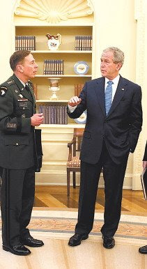 Bush declares: ''No, general. Basta, game over!''