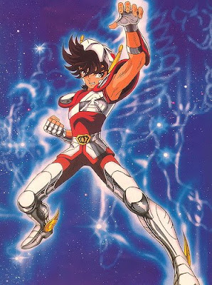 Seiya, red shifting Saint