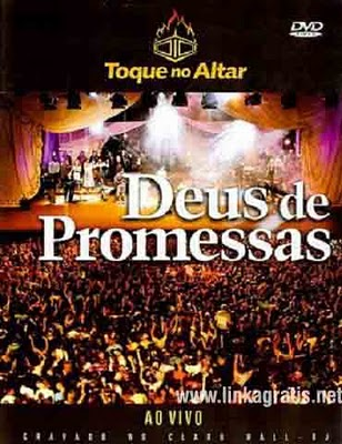 DVD Toque no Altar: Deus de Promessas - Ao Vivo