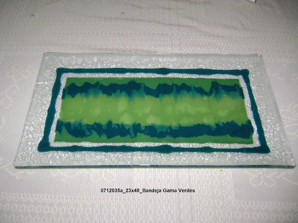 Vitrofusi n - Gama de verdes ...