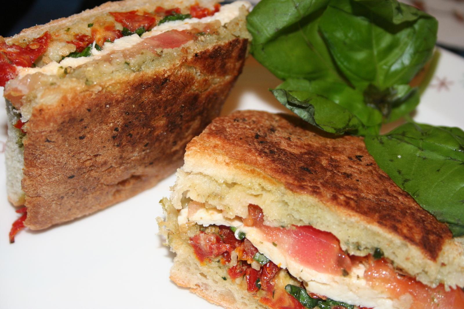 Chicken Panini With Gruyere, Tarragon And Artichoke Spread Recipes ...