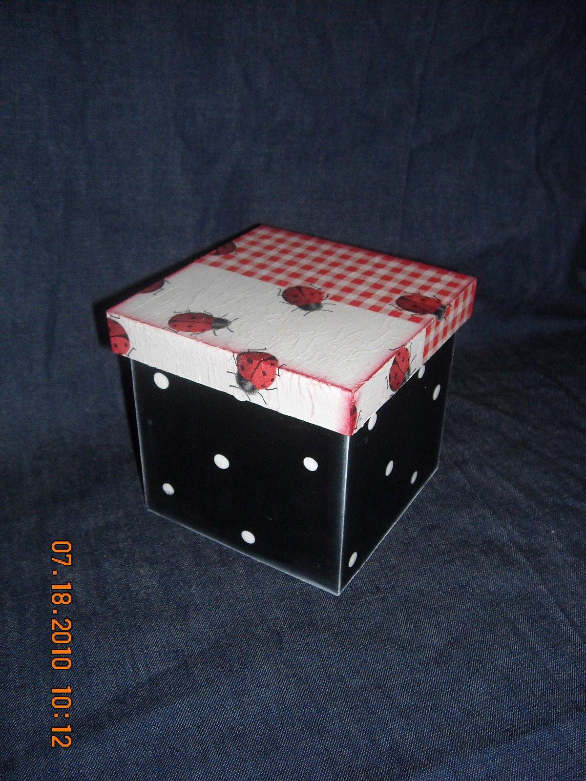 Caja Vaquita De San Antonio