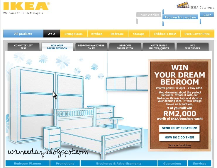 Design Your Own Dream Bedroom And Win RM2000 Apa Lagi Terus I