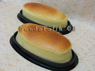 Penampakan cheesecake sebelum dikasih topping