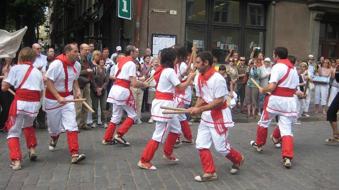 Bastoners de Malla a Tallinn, Estònia (agost 2008)
