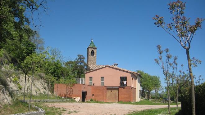 la rectoria de Sant Vicenç de Malla