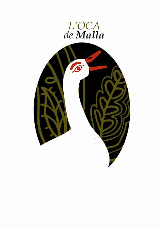 El logotip de la Colla de l'Oca de Malla