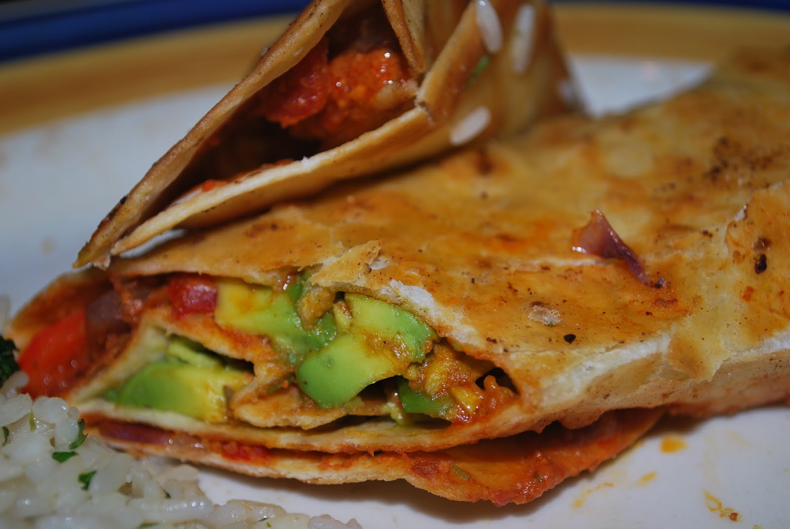 These normally come with cheese, but it's easy to omit. Avocados are ...