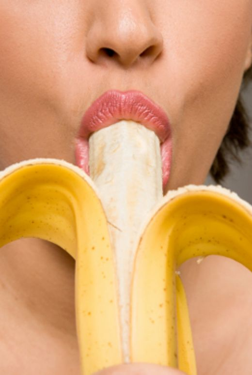 Deep penetration with a banana