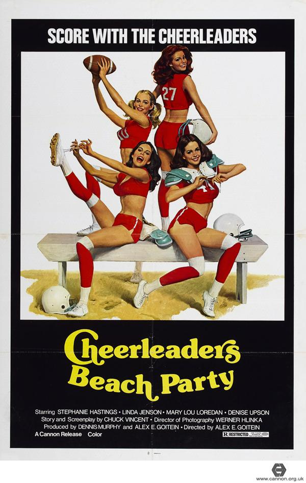 Cheerleaders Beach Party movie