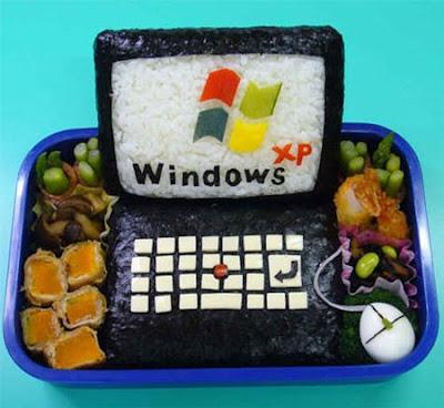Sushi+Computer, food art