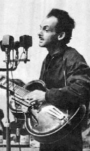 Young Bulat Okudzhava