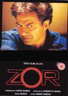 Zor: Never Underestimate the Force (1998) SL TWT - Sunny Deol, Sushmita Sen, Milind Gunaji, Anupam Kher, Om Puri, Govind Namdeo, Mohan Agashe, Dina Pathak, Tiku Talsania