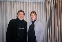 Miguel Duarte y Margarita Stolbizer. Entrevista para trabajo de tesis doctoral. Córdoba, 8-may-08.