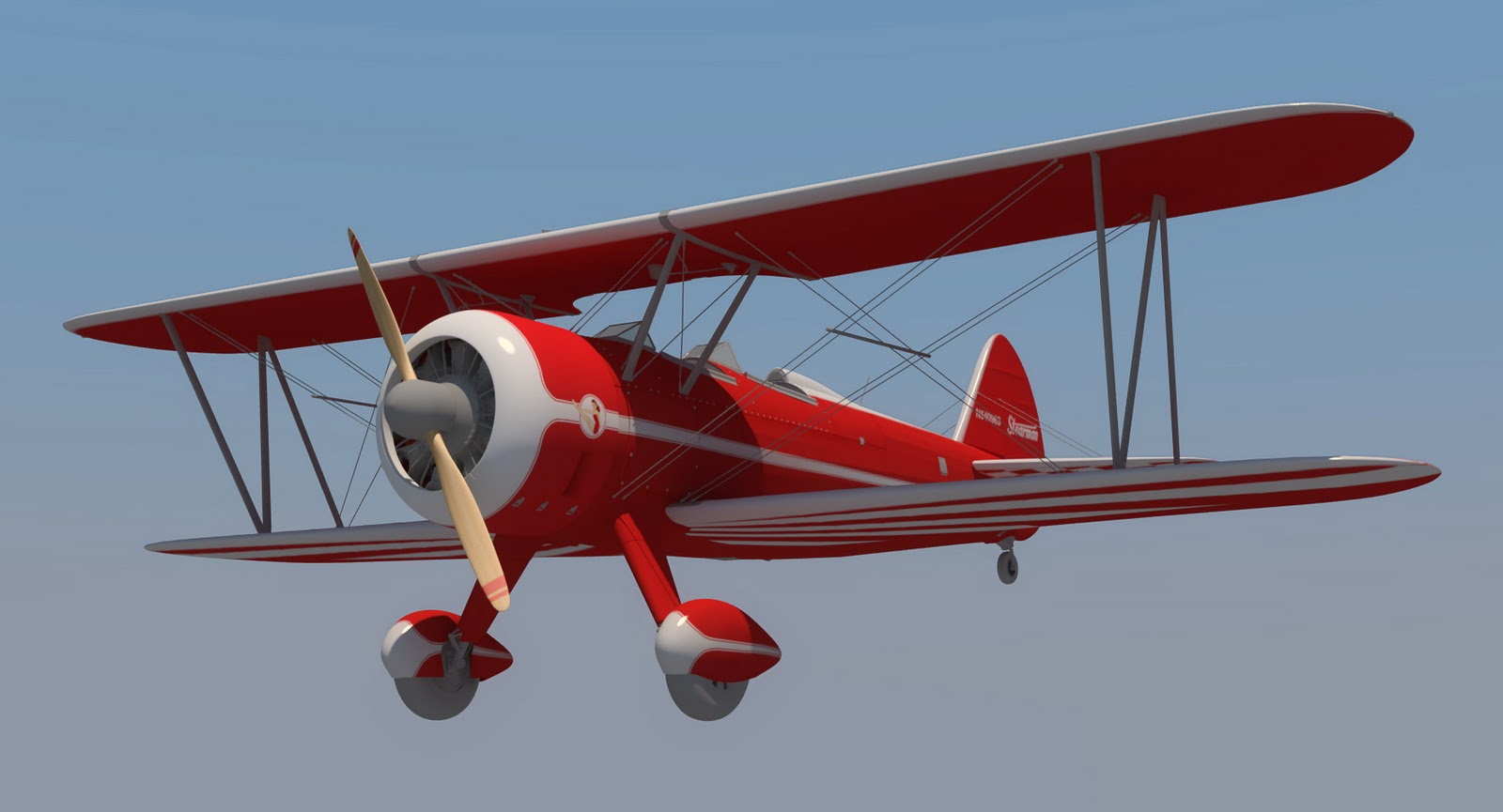 Stearman Biplane Model on 2010 12 01 Archive