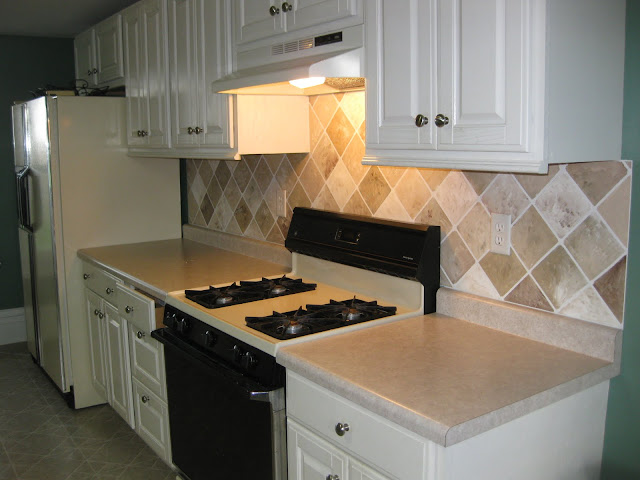 Painted Backsplash Tutorial
