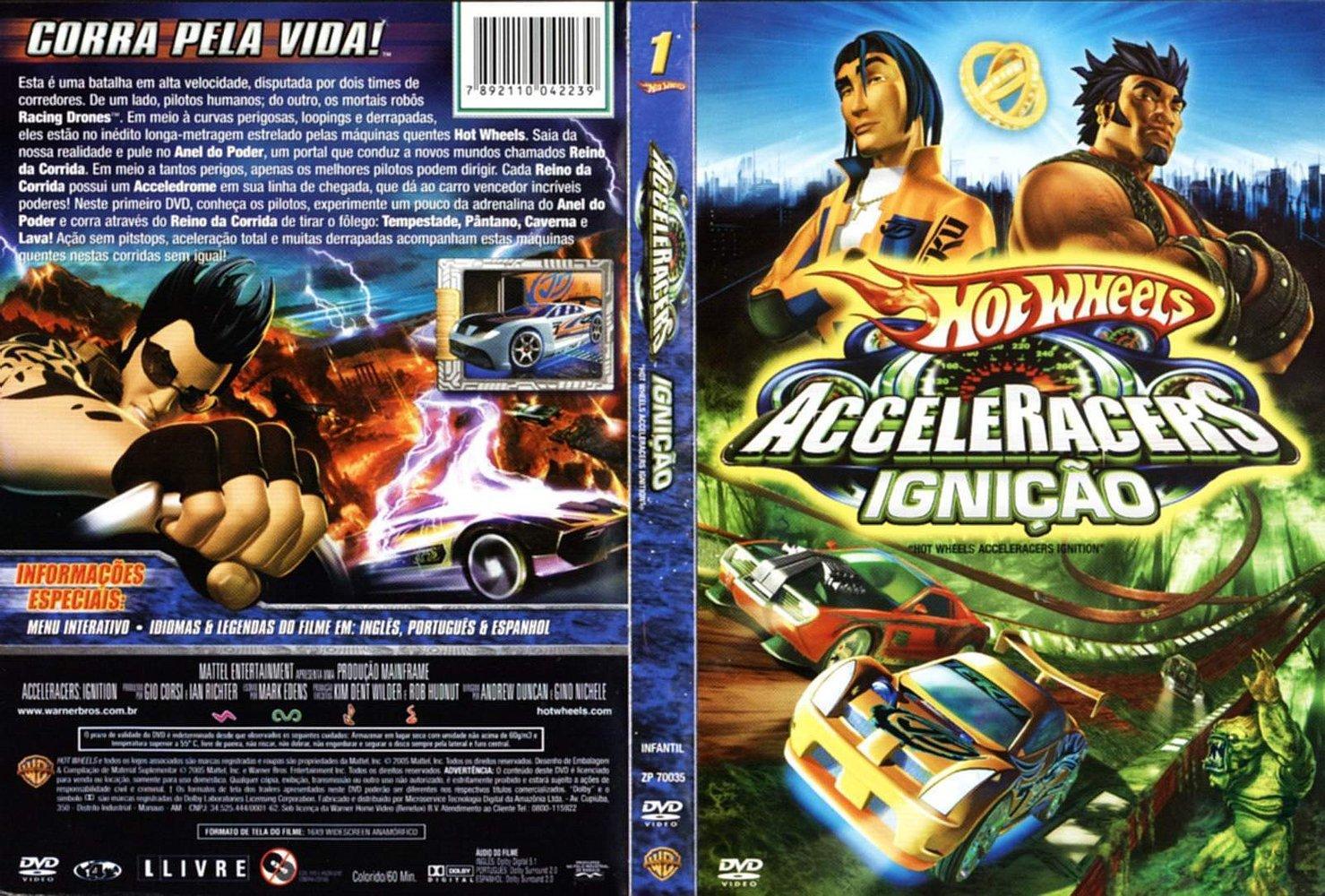 Filme Do Hot Wheels for capas de filmes: hot wheels acceleracers - ignition