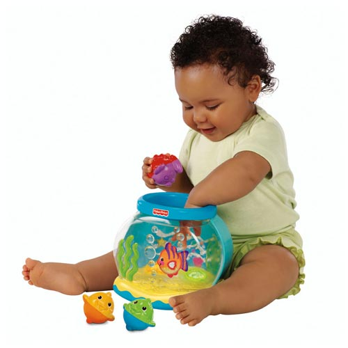 Baby Amp Kidsmarket Fisher Price Musical Fish Bowl With 3