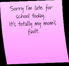 Oops i forgot to do my homework
