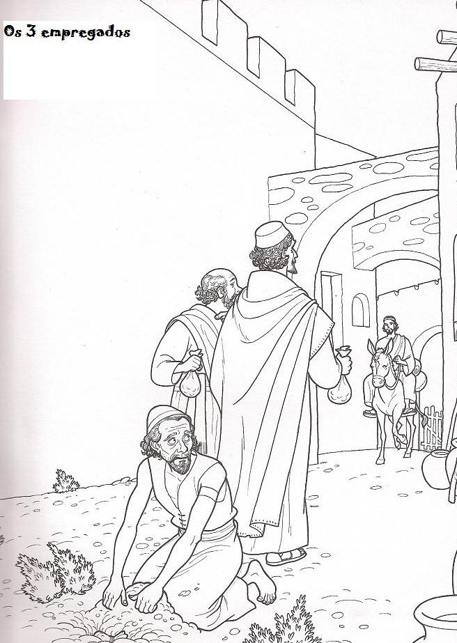 matthew 25 coloring pages - photo#16
