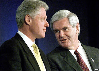 clinton gingrich