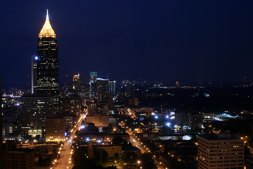 Atlanta, Georgia at Night by YimHafiz