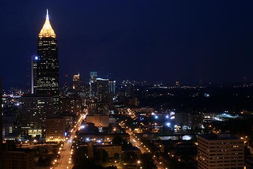 Atlanta, Georgia at Night by YimHafiz