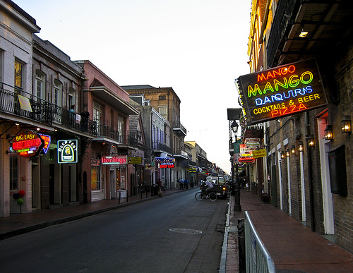 Bourbon Street by Mary Witzig