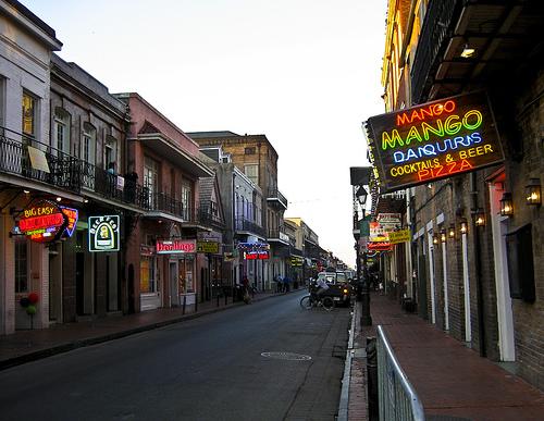 Bourbon Street by Mary Witzig