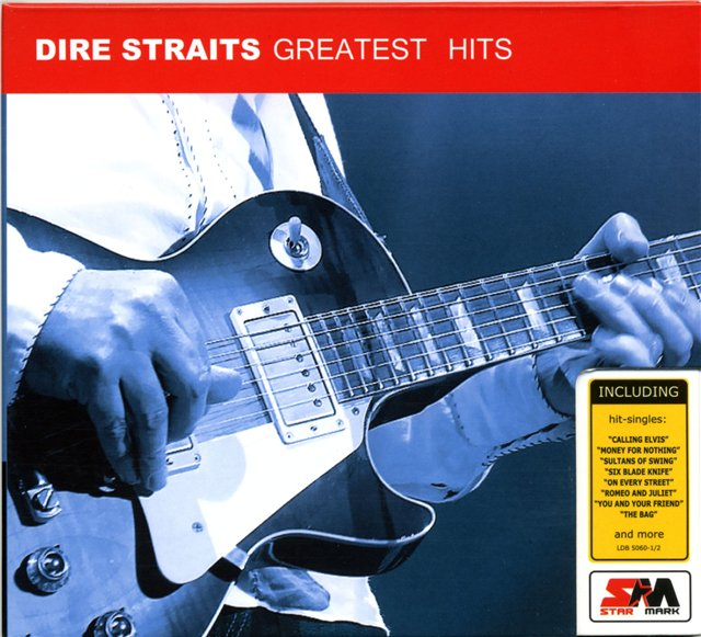 Capa do CD Dire Straits - Greatest Hits