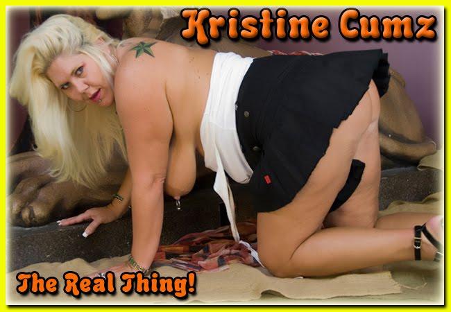 Kristine Cumz -A Hot Curvy MILF