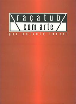 Catálogo de arte com trabalhos de 12 artistas plásticos araçatubenses