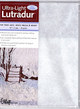 Ultra-Light Lutradur from C&amp;T Publishing...