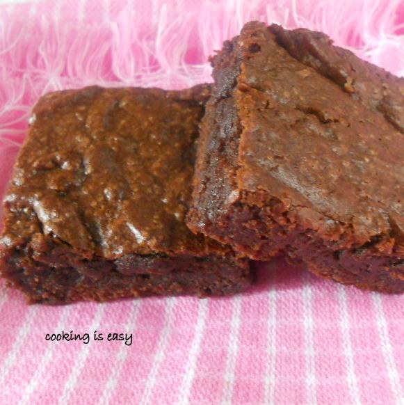 Browned Butter Brownies....step-by-step method.   Cooking Is Easy