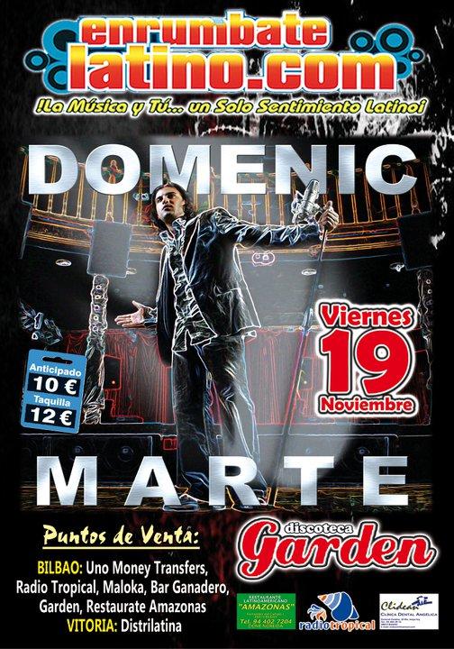 The music corner domenic marte deseos de amarte europeon - Ozona discoteca madrid ...
