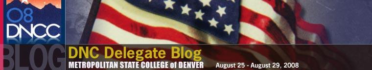 Metro State DNC delegate blog