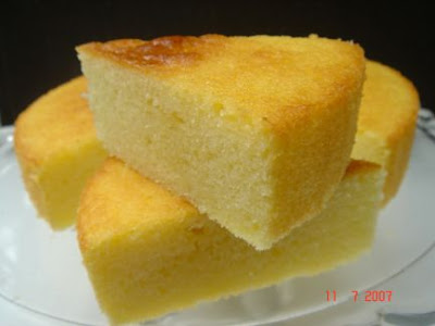 ... growing up in my childhood home was my mother's Millie's Yellow Cake