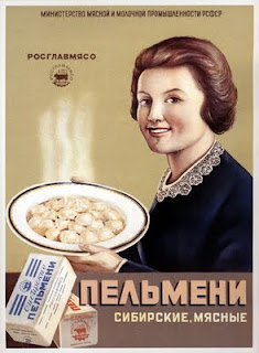 Russian Pelmeni Soviet Poster
