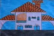 este modelo de desenho de casa é para quem quer uma casa grande e com a .