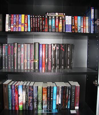 Read & TBR Shelves
