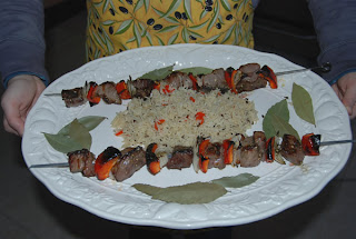 Lamb and rice. Click to enlarge. (C)2008 SmellsLikeGrape