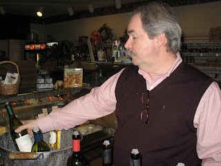 Bob McVickers representing the Boston Wine Company. (C)2008 SmellsLikeGrape
