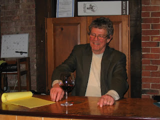 Eric talks about a Gamay from Switzerland. (c)2008 SmellsLikeGrape