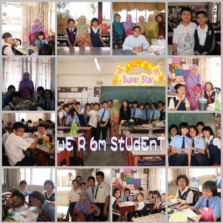 Wajah-wajah kesayangan hamba...Anak-anak Didikku 6M / 2010