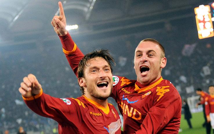 Francesco Totti Ucapkan Salam Perpisahan Pada De Rossi